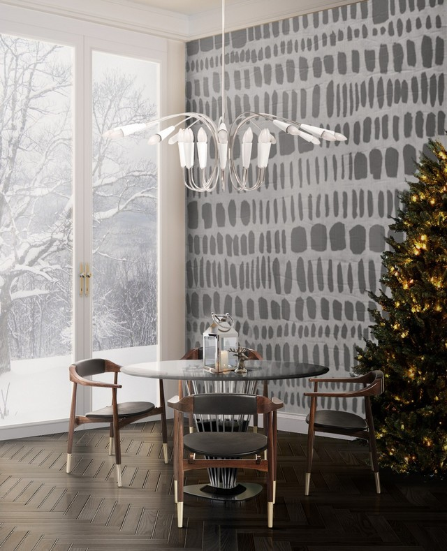 5 White Chandeliers to add Snowy Charm to Your Winter Decor