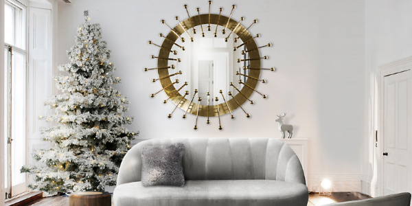 Mid-Century Christmas Have a Mid-Century Christmas with these Incredible Living Room Ideas For that Mid Century Modern Home that is All We Want for Christmas 4