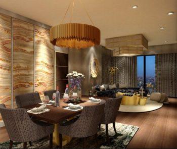 Interior Design Projects - Yangon's Royal Residence by Aung Naing Linn