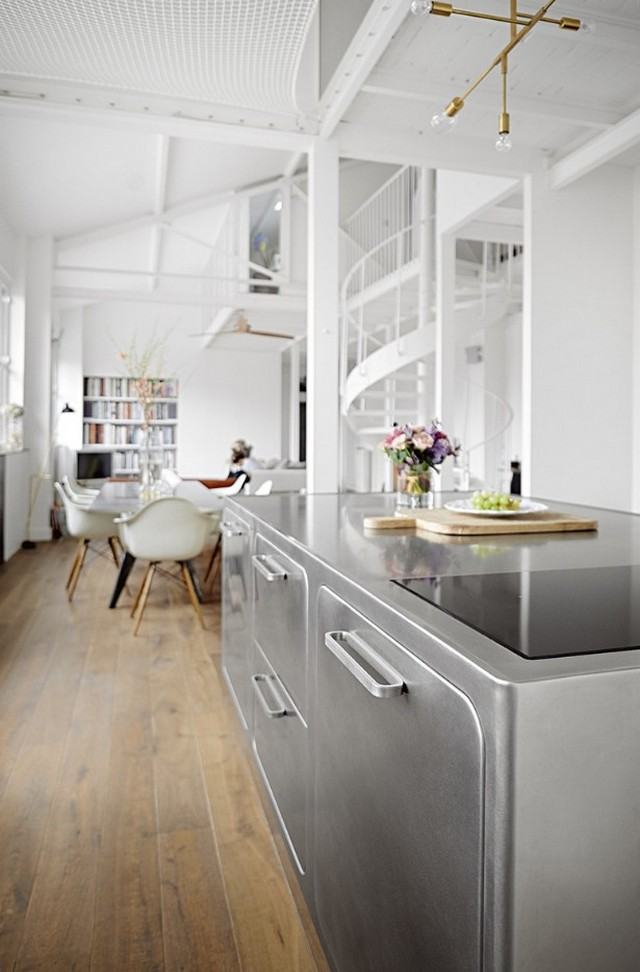 How to Have a Parisian-like Industrial Style Kitchen Industrial Style Kitchen How to Have a Parisian-like Industrial Style Kitchen How to Have a Parisian like Industrial Style Kitchen 4