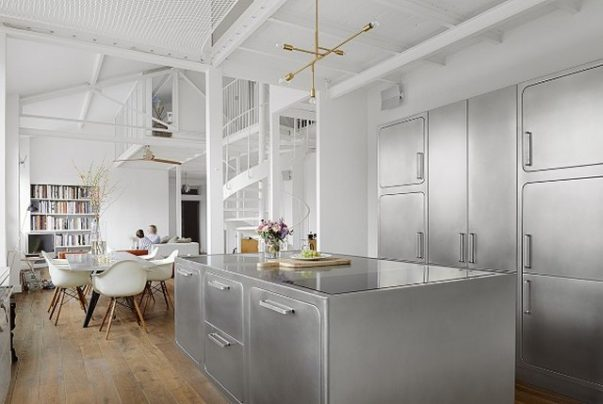 How to Have a Parisian-like Industrial Style Kitchen Industrial Style Kitchen How to Have a Parisian-like Industrial Style Kitchen How to Have a Parisian like Industrial Style Kitchen 8 603x404