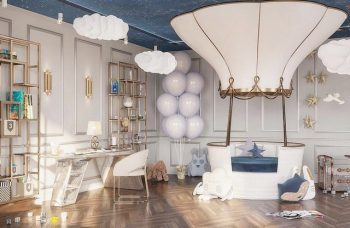 Kids Bedroom Ideas - A Luxury Boy's Bedroom in Moscow by A3Design  Kids Bedroom Ideas – A Luxury Boy's Bedroom in Moscow by A3Design Kids Bedroom Ideas A Luxury Boys Bedroom in Moscow by A3Design 1 350x228