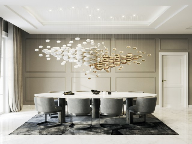 Euroluce 2019 - San Soucci's Amazing Dining Room Lighting  Euroluce 2019 – San Souci's Amazing Dining Room Lighting Euroluce 2019 San Souccis Amazing Dining Room Lighting 1