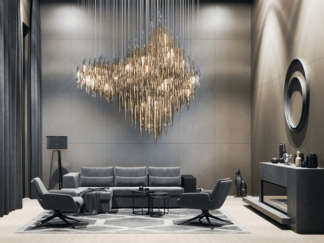 Euroluce 2019 - San Soucci's Amazing Dining Room Lighting  Euroluce 2019 – San Souci's Amazing Dining Room Lighting Euroluce 2019 San Souccis Amazing Dining Room Lighting 5