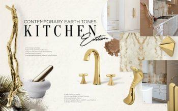 luxury kitchen Luxury Kitchen With Even More Luxurious Door Handles Luxury Kitchen With Even More Luxurious Door Handles 5 350x219