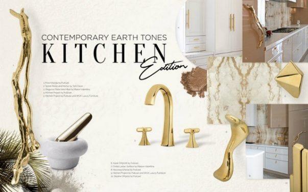luxury kitchen Luxury Kitchen With Even More Luxurious Door Handles Luxury Kitchen With Even More Luxurious Door Handles 5 603x377