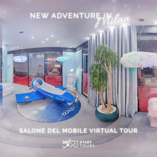 Step Inside Circu's Salone del Mobile 2019 Stand in a Virtual Tour  Step Inside Circu's Salone del Mobile 2019 Stand in a Virtual Tour Step Inside Circus Salone del Mobile 2019 Stand in a Virtual Tour 5
