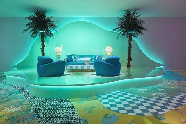 Versace Home Debuted Incredible Designs at Milan Design Week