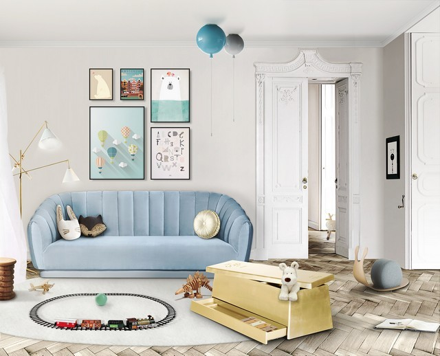 Kids Interior Design Trends 2019 – Dusk Blue is the Colour of the Month Kids Interior Design Trends 2019 Dusk Blue is the Colour of the Month 3