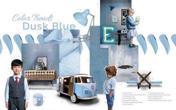Kids Interior Design Trends 2019 – Dusk Blue is the Colour of the Month Kids Interior Design Trends 2019 Dusk Blue is the Colour of the Month 5 350x219