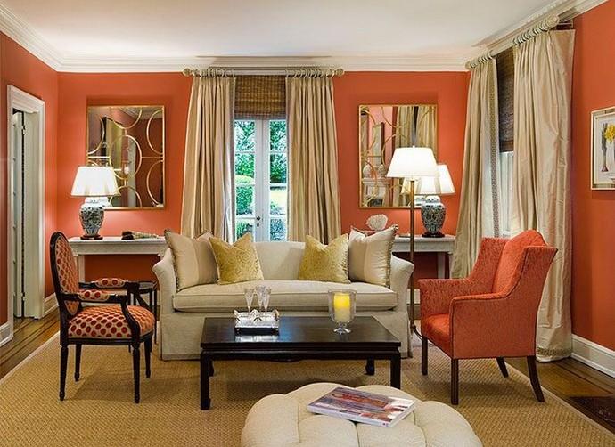 Living Room Decor Trends – How yo use Living Coral Living Room Decor Trends How yo use Living Coral 1