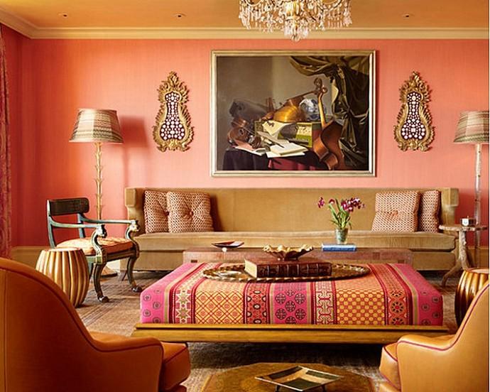 Living Room Decor Trends – How yo use Living Coral Living Room Decor Trends How yo use Living Coral 5