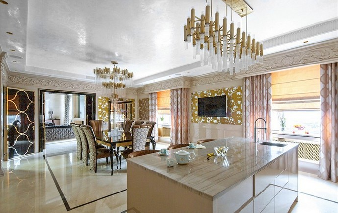 luxury penthouse Luxury Penthouse in Moscow that Will Blow Your Mind Luxury Penthouse in Moscow that Will Blow Your Mind 3