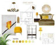 Interior Design Trends 2020 – Let Bright Yellow Shine Through your Home Interior Design Trends 2020 Let Bright Yellow Shine Through your Home 1 194x155