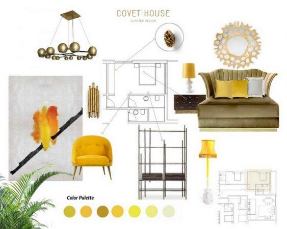 Interior Design Trends 2020 – Let Bright Yellow Shine Through your Home Interior Design Trends 2020 Let Bright Yellow Shine Through your Home 1 563x450
